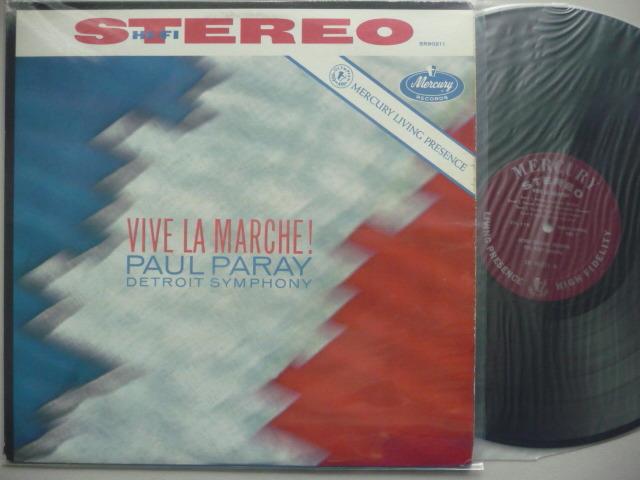VIVE LA MARCHE - PAUL PARAY MERCURY LP EXCEL