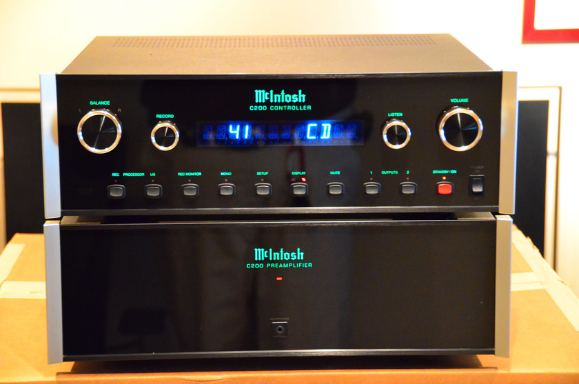 McIntosh C200 Preamp Stereophile Class A