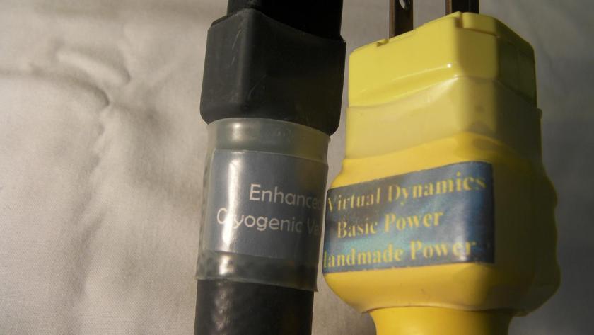 Virtual Dynamics Basic Power Enhanced Cryogenic Version AC Power Cord 6'  (Free Ship & PayPal)