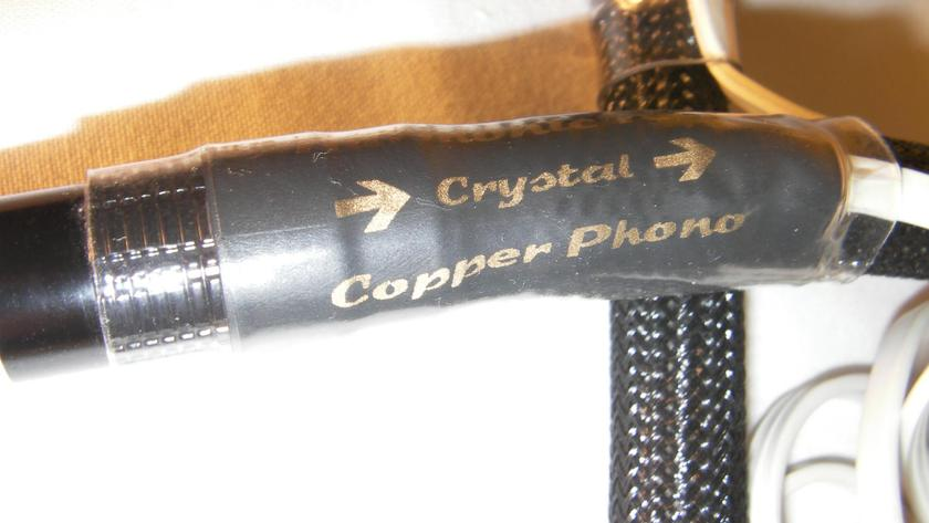 Harmonic Technology Crystal Copper Phono IC (RCA-RCA) 1m  (Free Ship & PayPal)