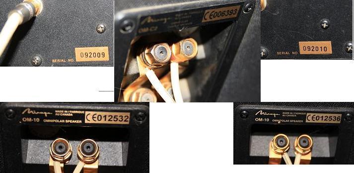 Mirage OM-6/OM-10/OM-C2 Complete 5.1 setup