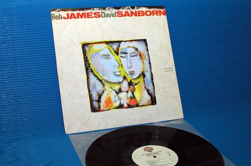 "BOB JAMES/DAVID SANBORN -   - ""Double Vision"" - Warner Bros. 1986"