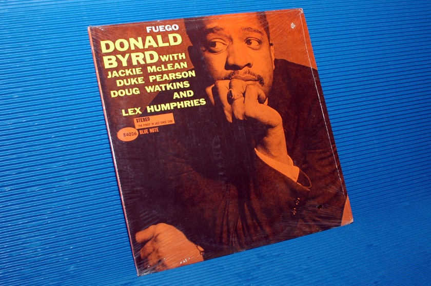 """DONALD BYRD -  - """"Fuego"""" - Blue Note 1963? Sealed!"""