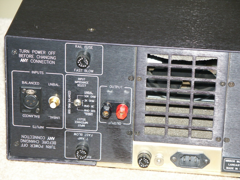 Mirror Image Audio 1.1  Mono Block Amplifiers