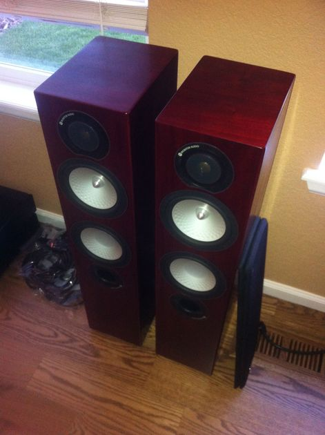 Monitor Audio  Silver RX6 Rosewood