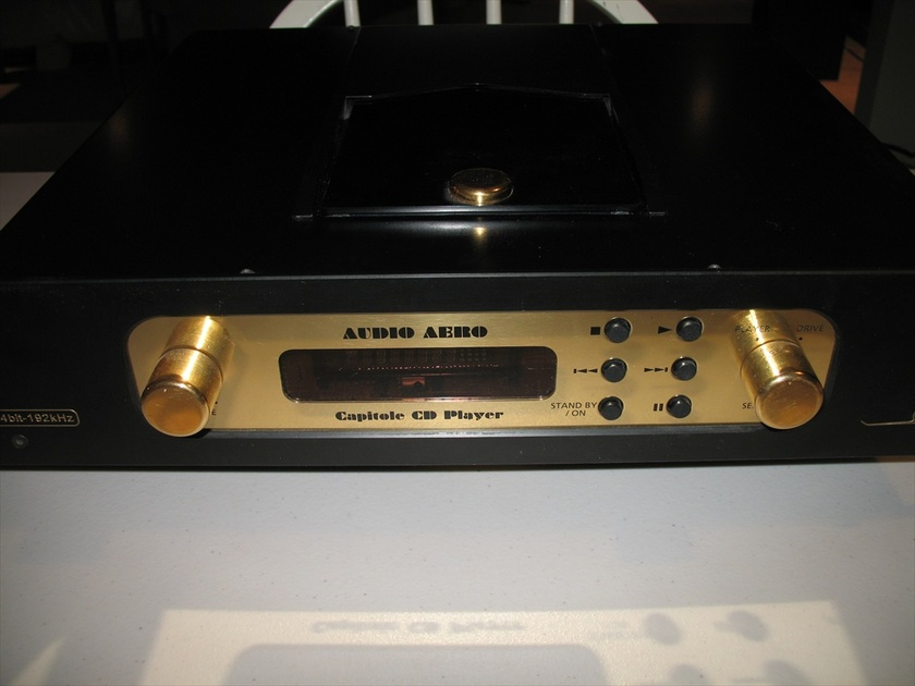 Audio Aero Capitole 24/192 Tube CD Player with Volume Control