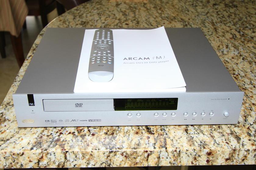 Arcam FMJ DV139 Universal Player DVD, CD, SACD
