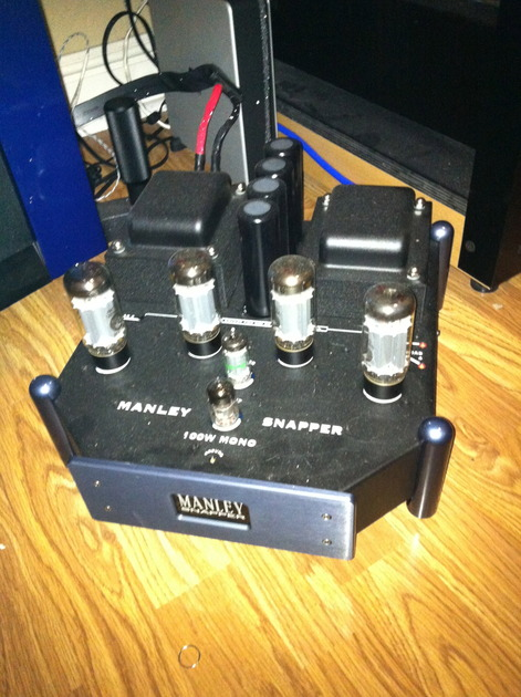 Manley Snapper Monoblock Amplifiers 100 wpc Tube magic As new