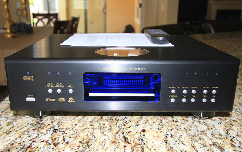 Cary Audio CD 306 SACD with external DAC