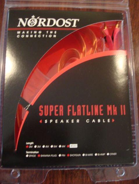Nordost Super Flatline MK II - 2M Excellent condition