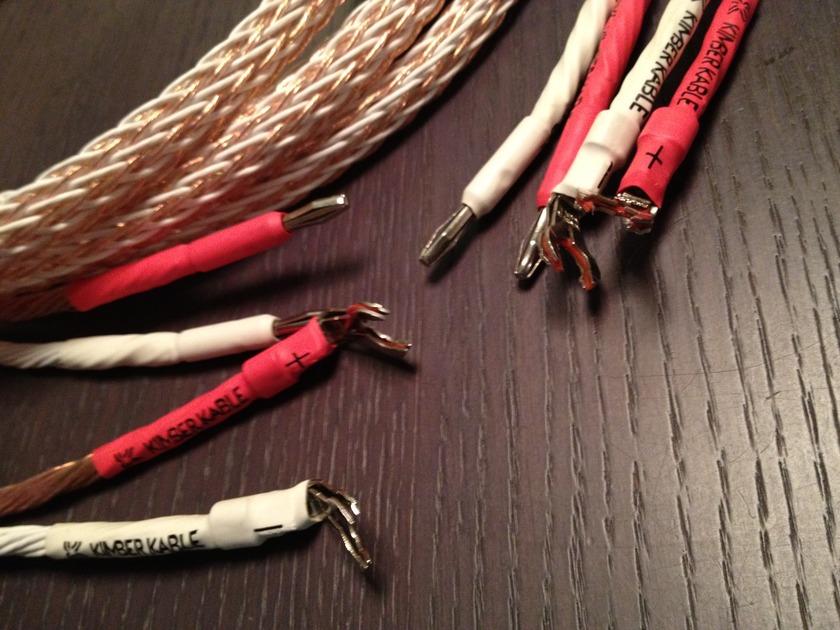 Kimber Kable 12TC 2.5M 8FT pair 12TC speaker cables