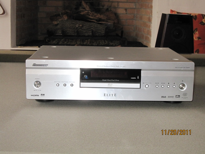 Pioneer Elite DV-79AVi Great Classic at Great Price in SIlver
