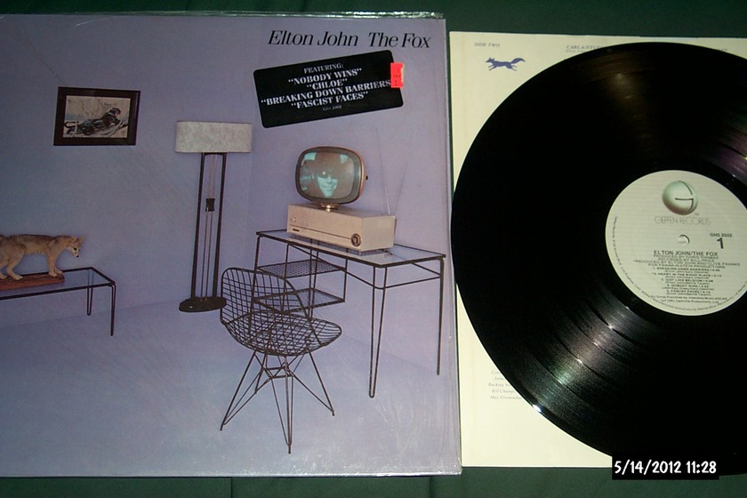 Elton john - The Fox lp nm