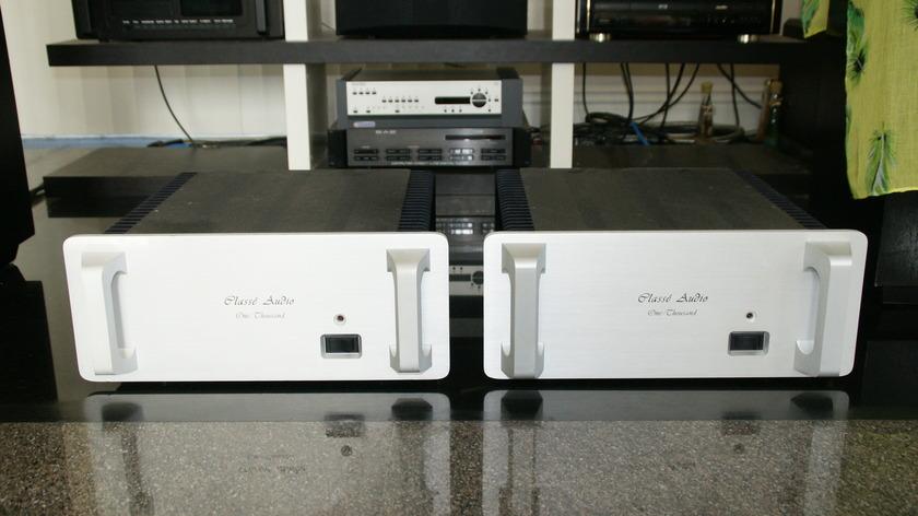 Classe M1000 Mono Amps.