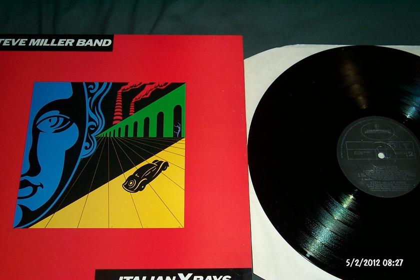 Steve Miller Band - Italian X-Rays Mercury UK LP NM