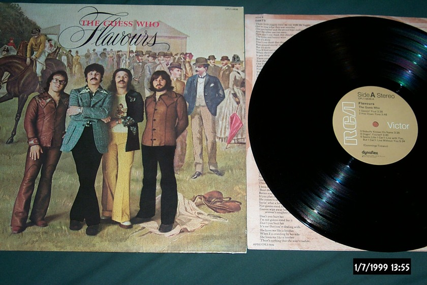 The Guess Who - Flavours LP NM