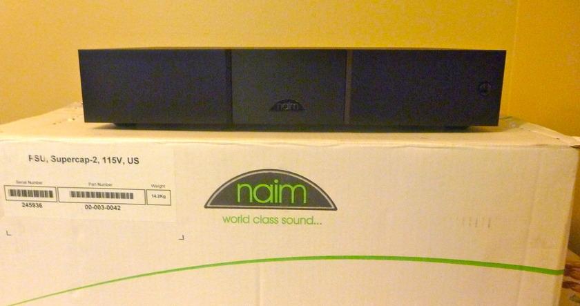 Naim Supercap 2 (paypal & shipping included)