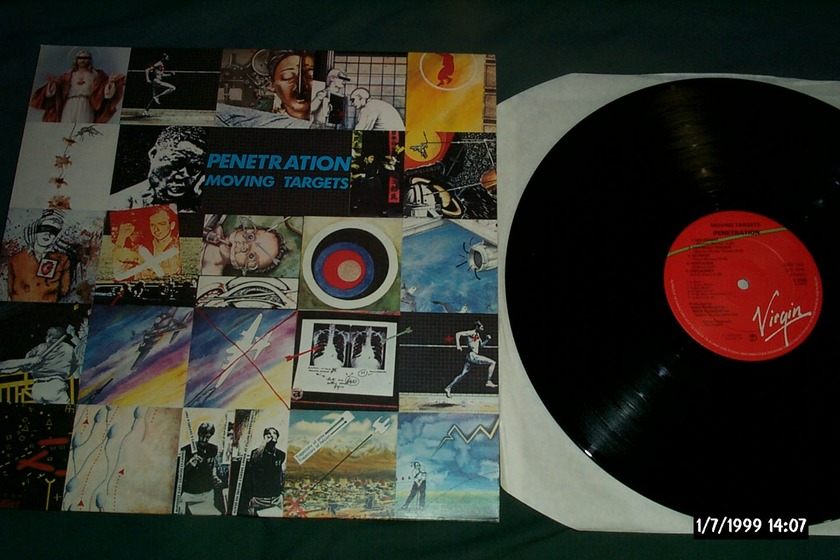 Penetration - Moving Targets Virgin UK LP NM