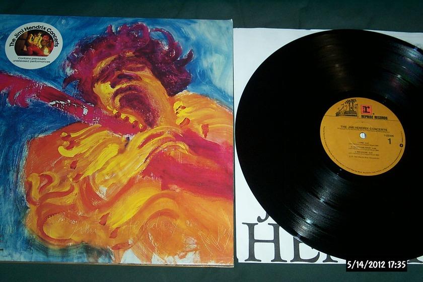 Jimi hendrix - Jimi Hendrix concerts 2 lp nm