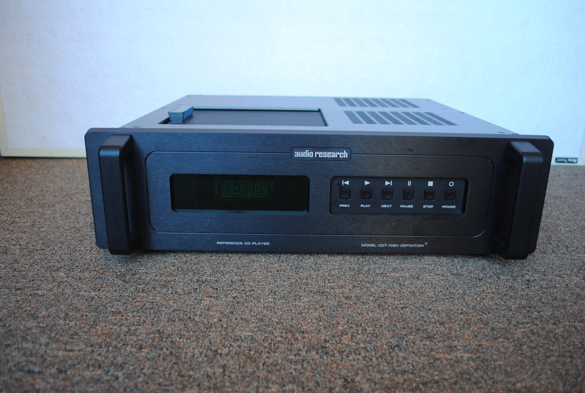 Audio Research Model CD 7 High Definition CD Player