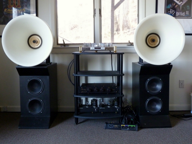 Oris (BD Design) 200 Horn Speakers and Bass Cabinets
