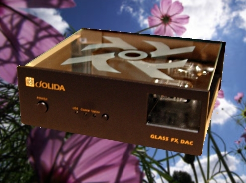 Jolida FX Glass Dac New modified Tube DAC's