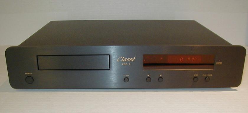 Classe  CDP.3  Black Single disc w/remote