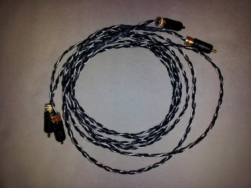 Kimber Kable (Cable) Silver Streak RCA Interconnects (2 meter long)