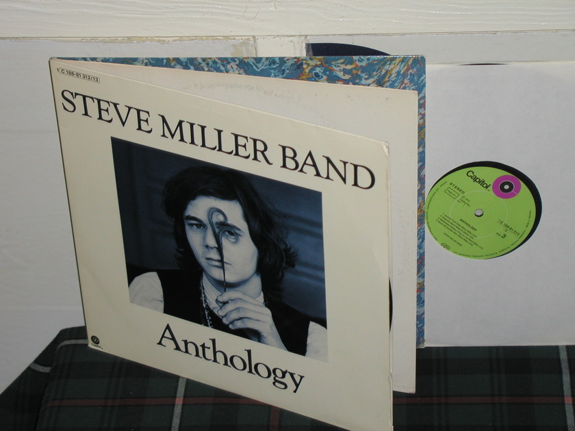 Steve Miller Band - Anthology GERMAN import w/insert 2lp (pics)