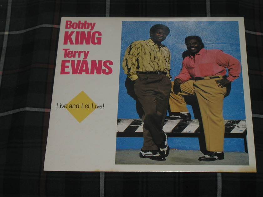 Bobby King/Terry Evans - Live and Let Live (Pics) Rounder 2089