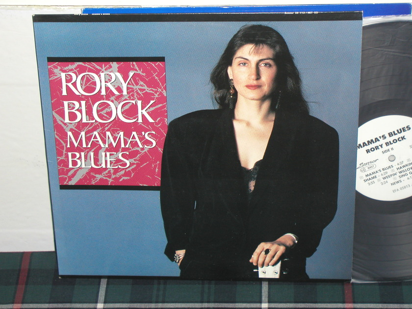 Rory Block - Mama's Blues (Pics) GERMAN import on zensor