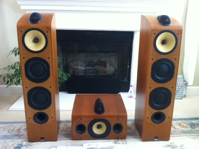 B&W Bowers & Wilkins 703 + HTM7 Center Speakers - Immaculate Condition