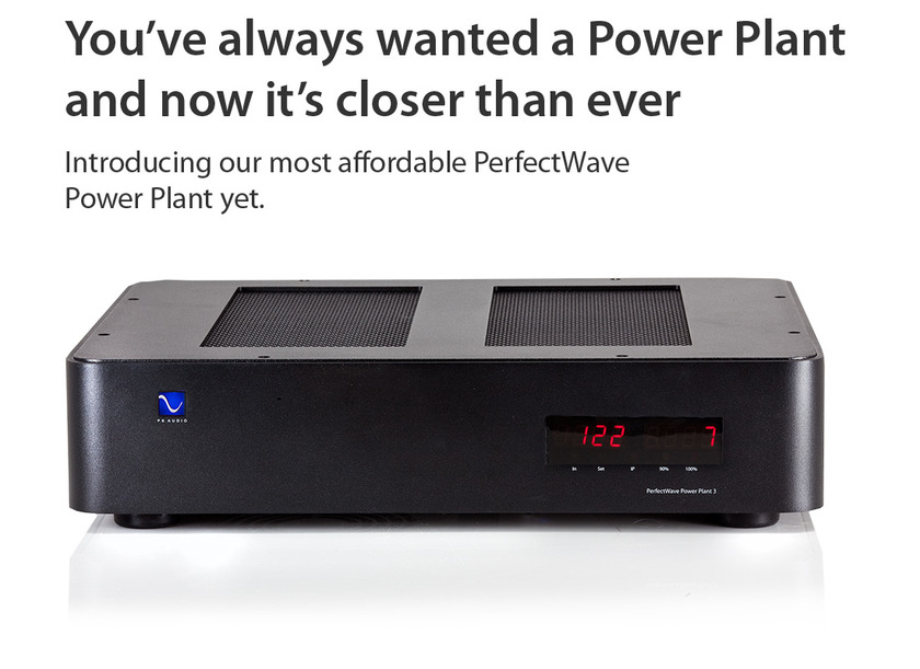 PS Audio PerfectWave Power Plant P3 affordable high end power solution