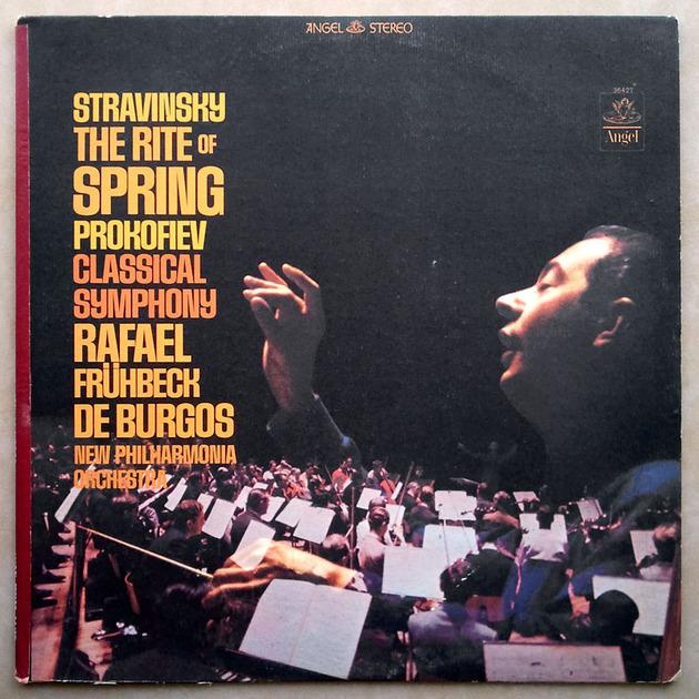 Angel Blue | BURGOS/STRAVINSKY - The Rite of Spring / PROKOFIEV Symphony No. 1 Classical / NM