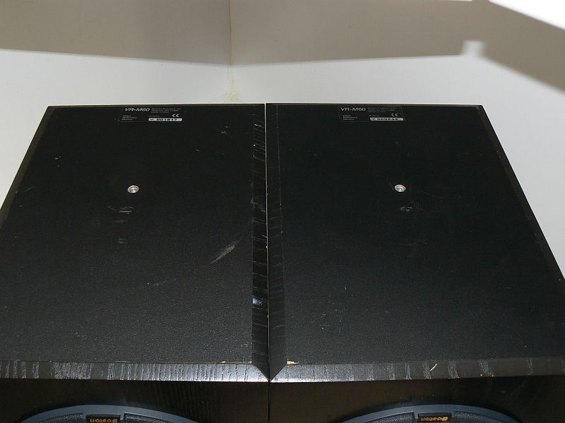 Boston Acoustics VRM-60 black pair very good condition