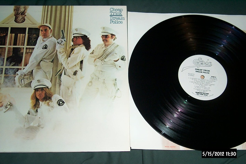 Cheap trick - WLP Dream police lp nm