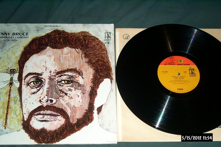 Lenny Bruce - The Berkeley Concert 2 lp frank zappa