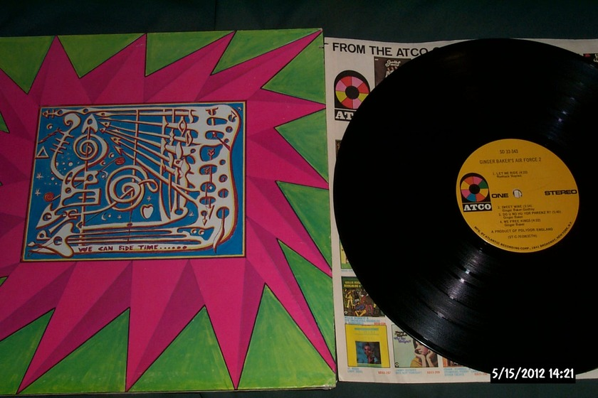 Ginger Baker's - Air Force 2 LP NM First pressing