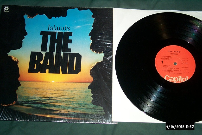 The Band - Islands LP NM
