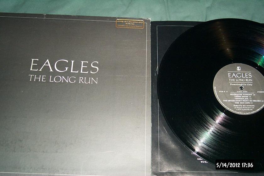 The eagles - The Long Run Asylum label promo lp nm