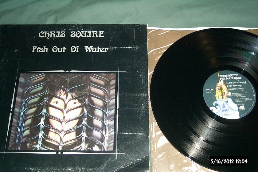 Chris squire - Fish Out Of Water lp nm