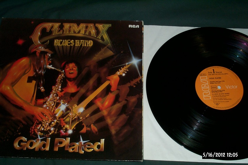 Climax Blues Band - Gold Plated Rca germany lp nm
