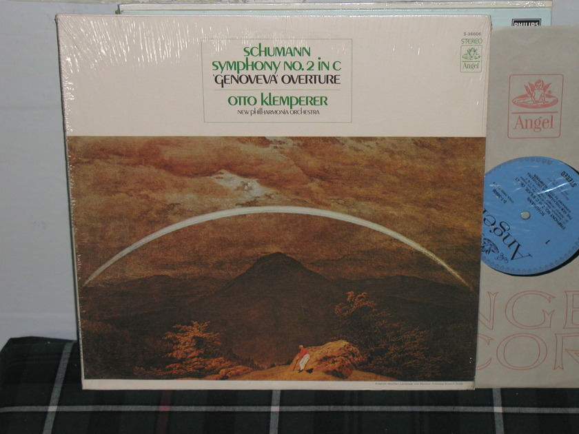 Klemperer/NPO - Schumann No 2 Blue/Silver Angel from 60's.