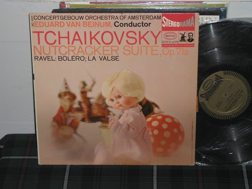 Van Beinum/COA - TchaIkovsky/Ravel EPIC BC 1027 STEREORAMA Gold label LP