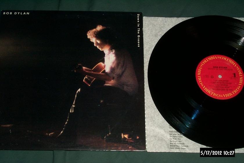 Bob dylan - Down In The Groove lp nm