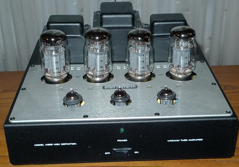 Audio Research VS55 Stereo Tube Amp with new SED KT88 Tubes