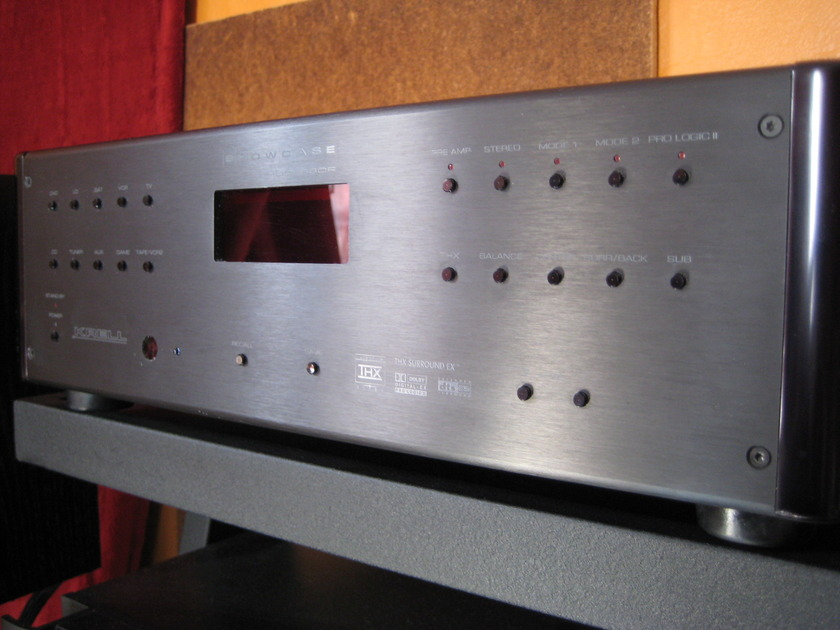 Krell Showcase Processor/Preamp 7.1 Balanced and Single-ended.