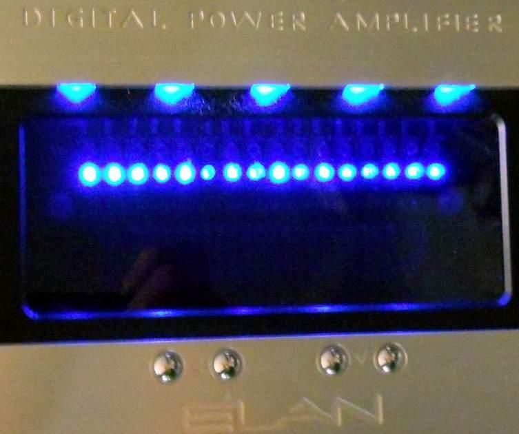 Elan D1650 D 1651  16 channel 100 wpc digital power amplifier