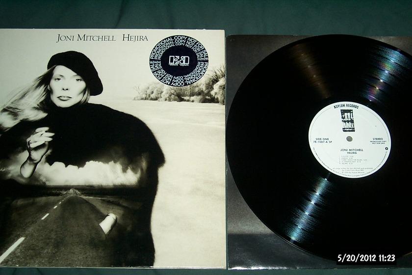 Joni Mitchell - Hejira white label promo lp nm