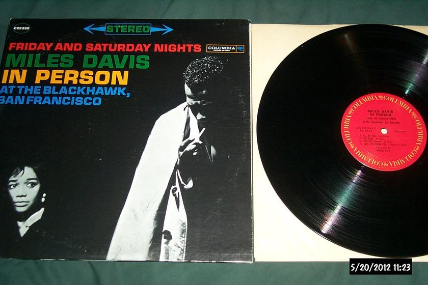 Miles Davis - In Person Friday & Saturday Nights 2 LP NM